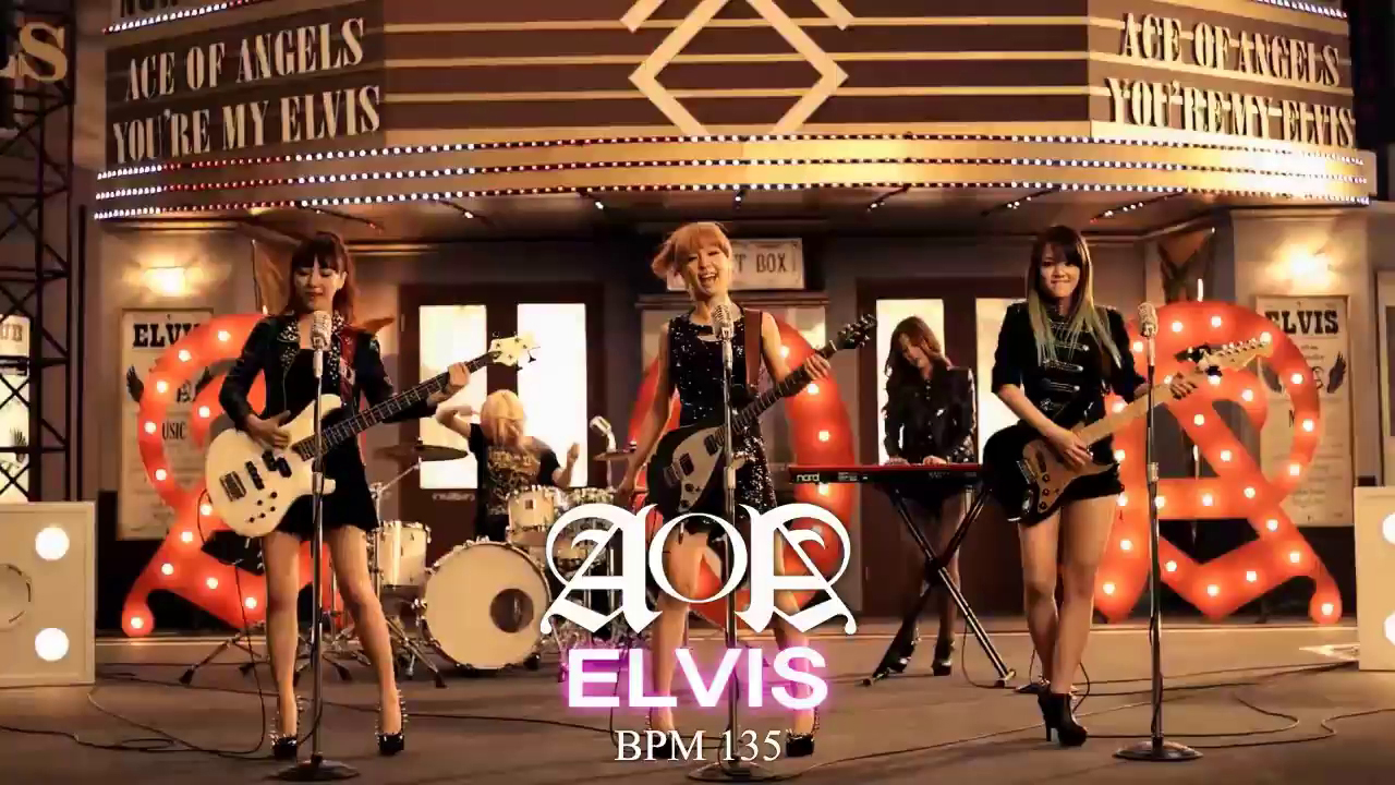 AOA - Elvis [Pump It Up Prime Teaser Preview]