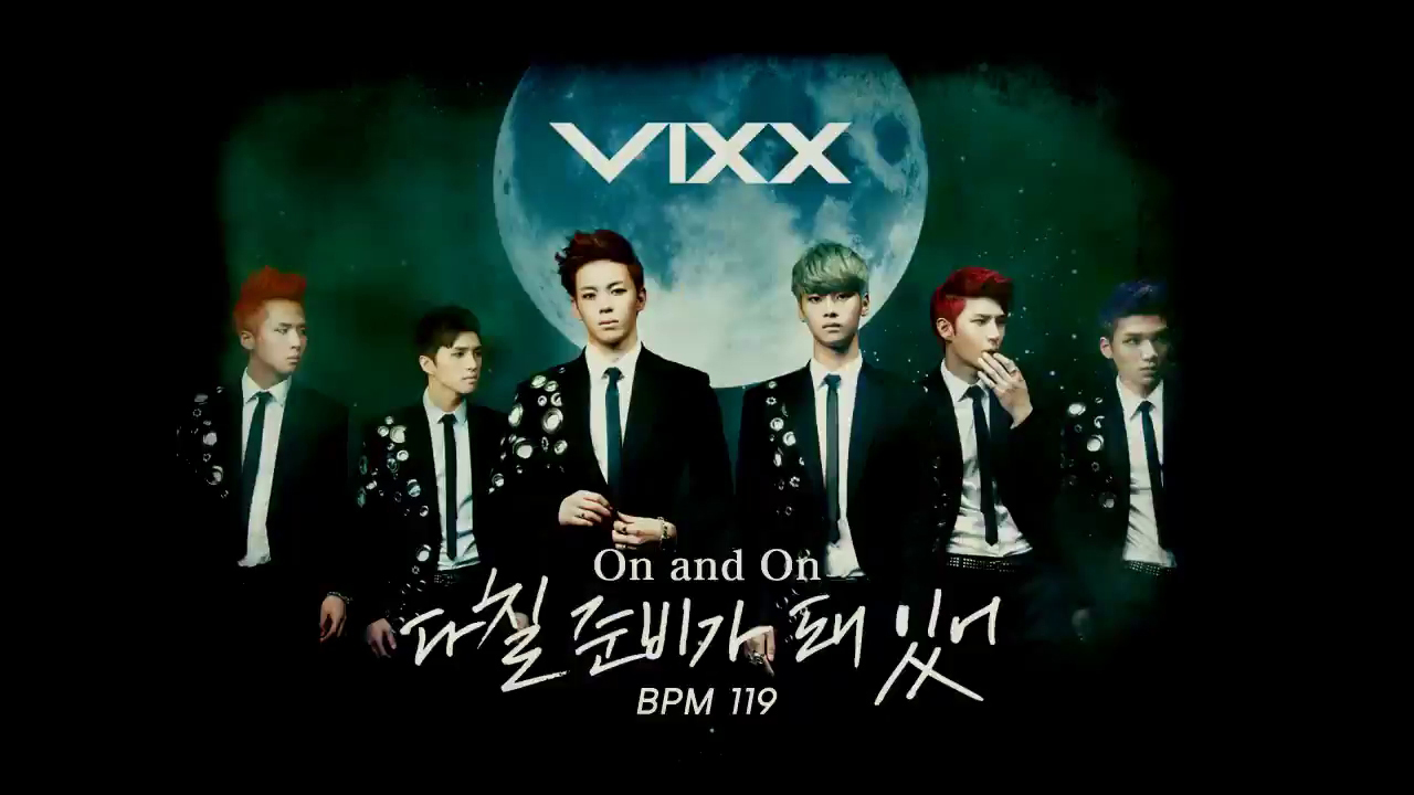 VIXX - On And On [Pump It Up Prime Teaser Preview]
